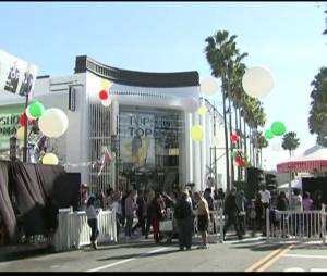 Inauguration de la boutique TopShop à Los Angeles