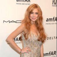 Lindsay Lohan ruine une robe à 1 300 euros