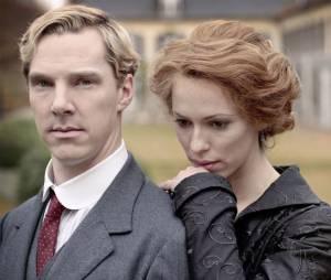 Benedict Cumberbatch et Rebecca Hall dans Parade's End