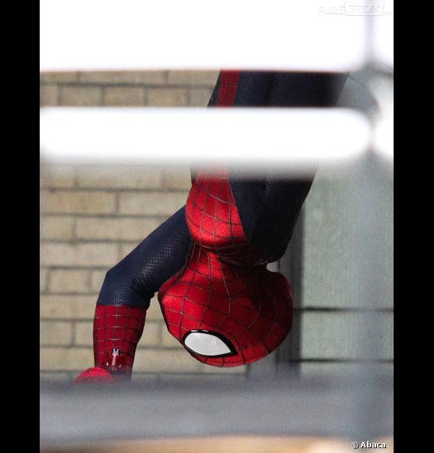 Le nouveau costume de Spider-Man se dévoile