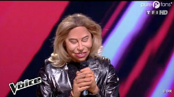La prestation de Sophie Tapie a été parodiée dans Les Guignols