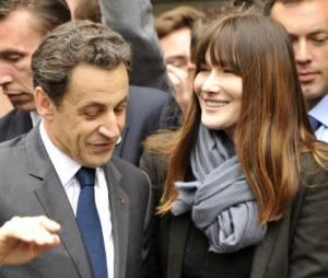 Carla Bruni ne veut pas d'un retour politique de Nicolas Sarkozy