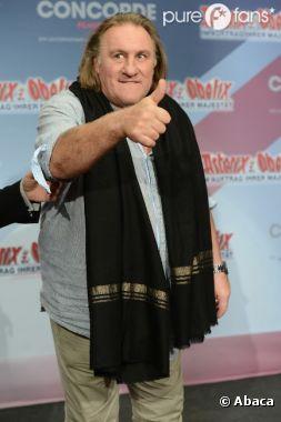 Gérard Depardieu crée une société en Belgique.