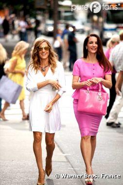 Kristin Davis de Sex & the City fait son retour à la télévision