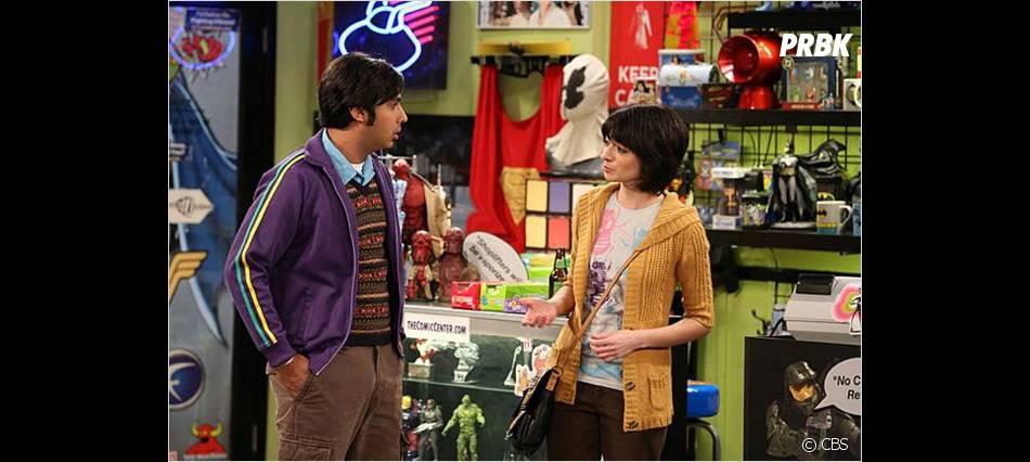 Raj va avoir peur de sa copine dans The Big Bang Theory