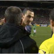 Zlatan Ibrahimovic humilie Yohan Mollo et fracasse un arbitre