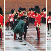 Kate Middleton en mode boulet : son talon coincé dans une plaque d'égoût