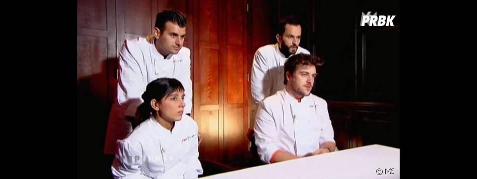 Les candidats ont ensuite assisté au commentaires du jury sur leurs plats réalisés.