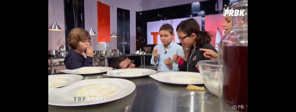 Les enfants ont donné leur avis sur les plats cuisinés par les candidats.