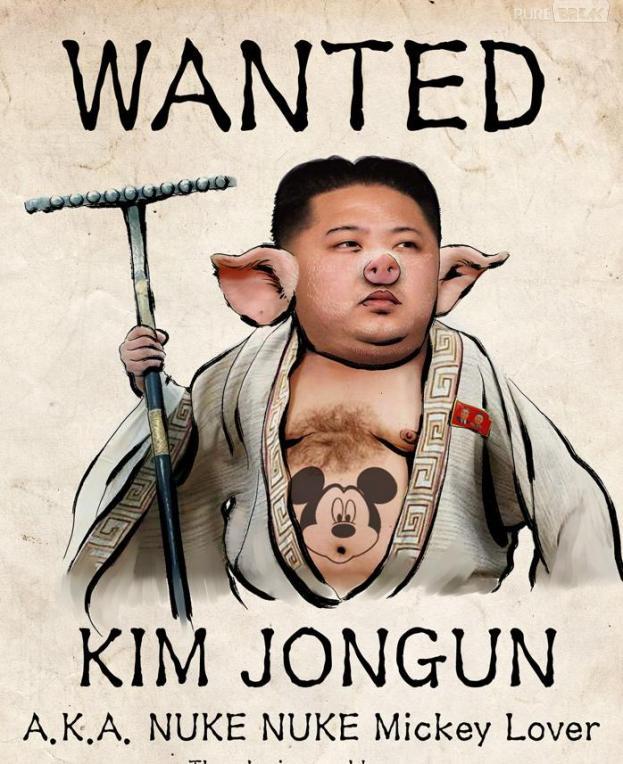 Anonymous se moque de Kim Jong-un
