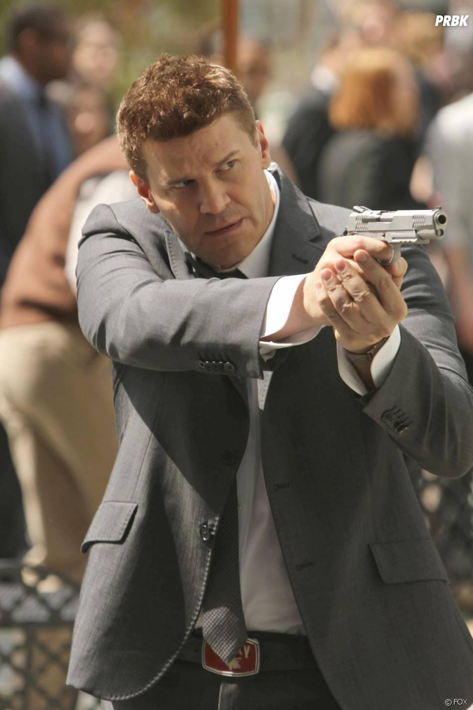 Booth prêt à tout pour protéger Brennan dans un épisode à venir de Bones