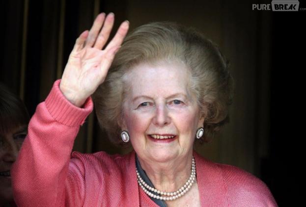 Margaret Thatcher est morte