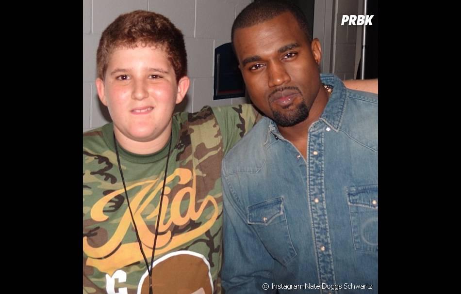 Nate Doggs Schwartz alias Nathan Schwartz avec Kanye West