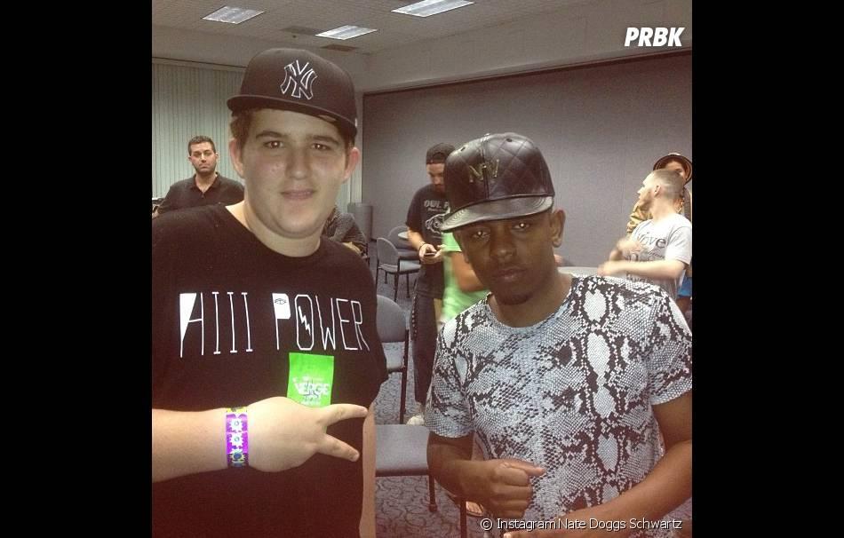 Kendrick Lamar et Nate Doggs Schwartz