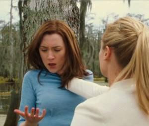 Melanie se rebelle face à la Traqueuse dans Les Ames Vagabondes