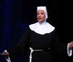 Aurélie Konaté est à l'affiche de la comédie musicale Sister Act au théâtre Mogador.