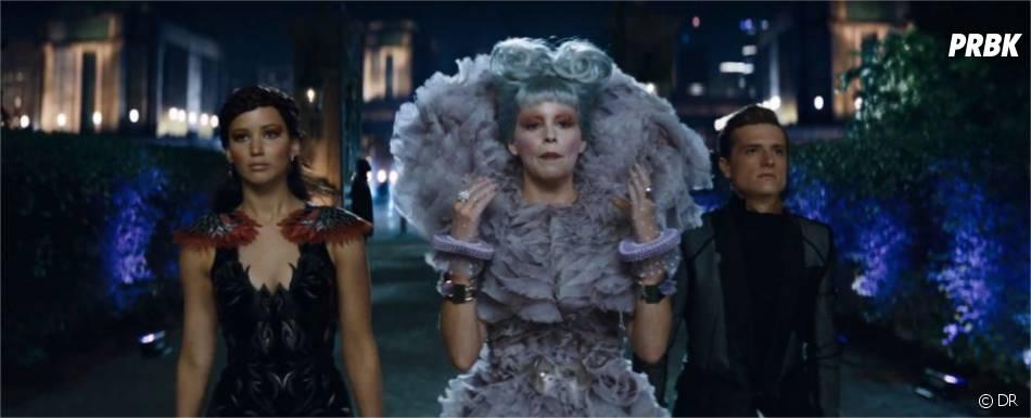 Katniss, Peeta et Effie dans Hunger Games 2