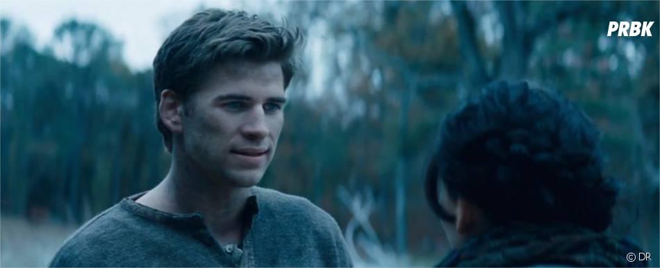Gale au centre de la bande-annonce de Hunger Games 2
