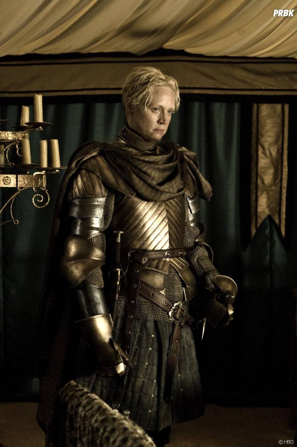 Brienne a échapper au pire grâce à Jaime dans Game of Thrones