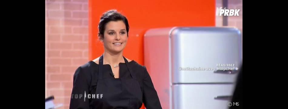 Faustine Bollaert a choisi de faire équipe avec Florent Ladeyn dans Top Chef 2013.
