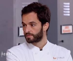 Yoni Saada a tout donné pour cette épreuve coup de feu dans Top Chef 2013.