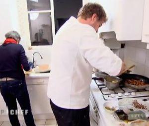 Les candidats ont ensuite cuisiné chez l'habitant dans Top Chef 2013.