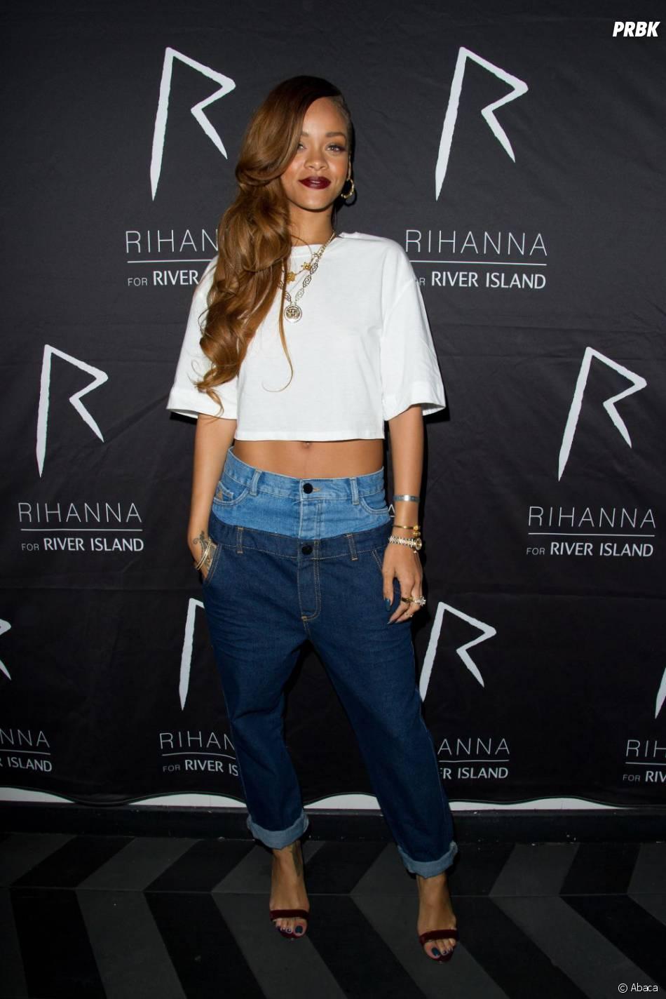Rihanna a préféré en rire