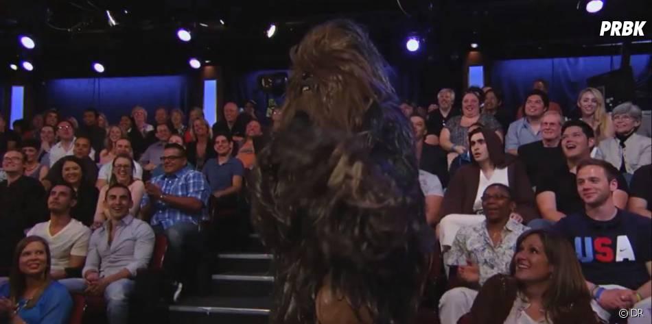 Chewbacca a piqué la femme de Ford