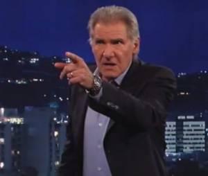 Harrison Ford en colère