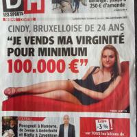 100 000 euros pour sa virginité, aucune offre : le buzz raté d'une Belge de 24 ans
