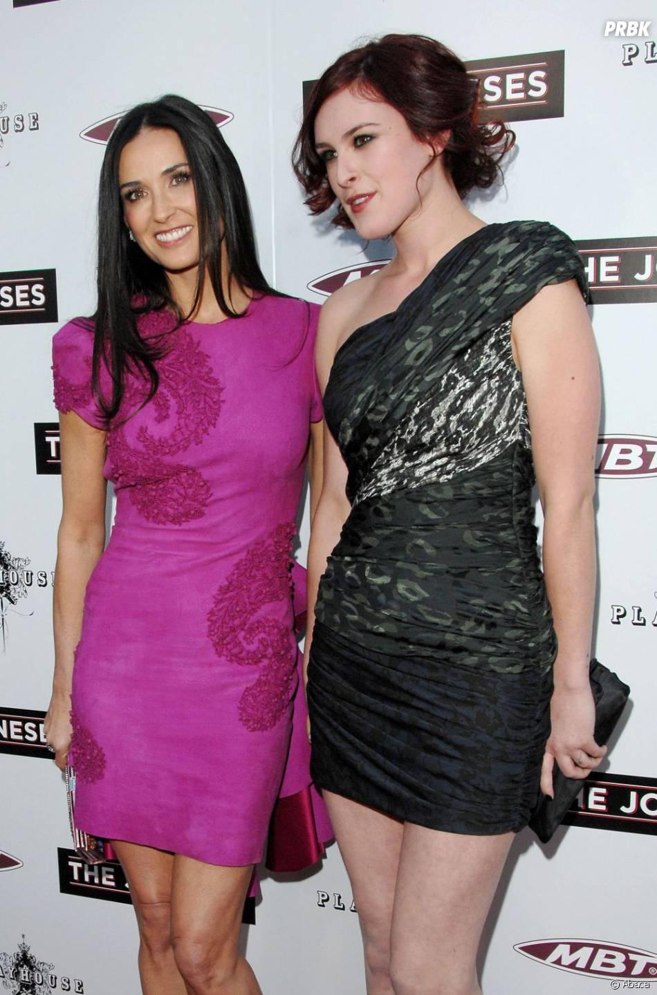 Ce n'est pas la joie entre Demi Moore et sa fille Rumer Willis