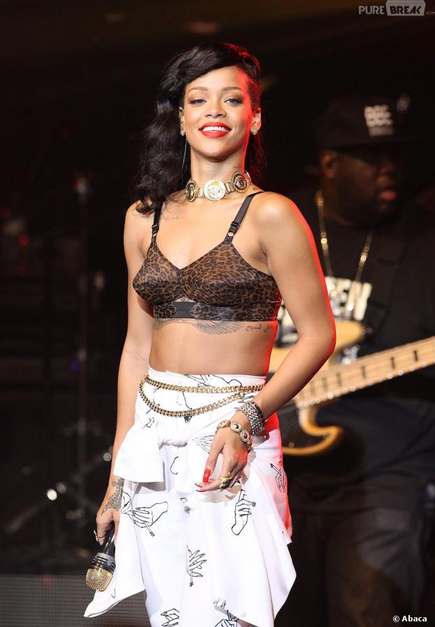 Rihanna choque encore sur Instagram
