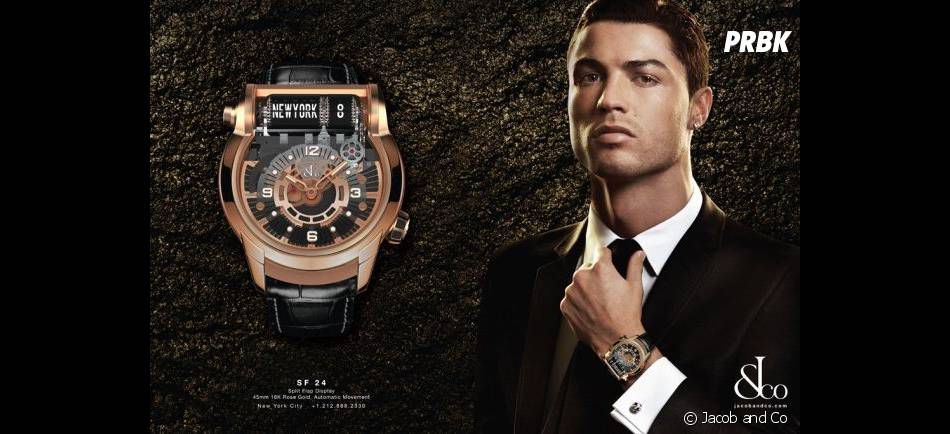 Cristiano Ronaldo se la joue James Bond pour Jacob & Co