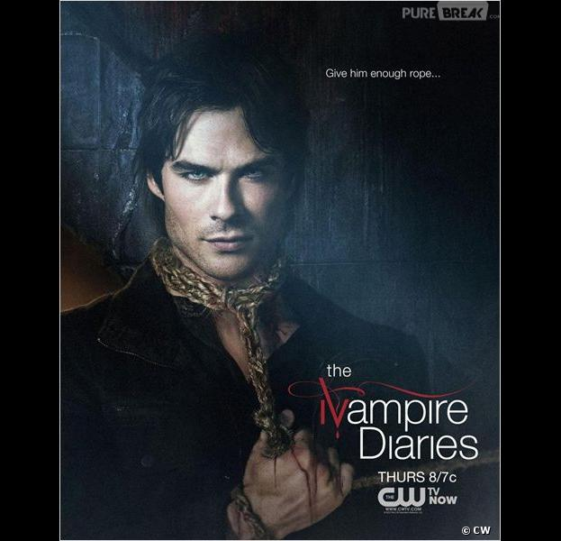 Damon en danger dans The Vampire Diaries