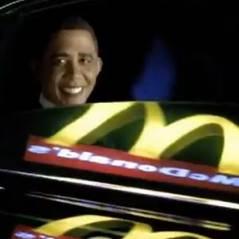 Barack Obama dans une pub McDonald's en Israel...ou presque !