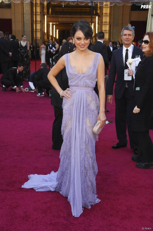 Mila Kunis heureuse avec Ashton Kutcher