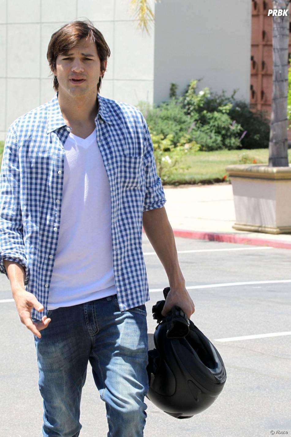 Ashton Kutcher un peu à cran ?
