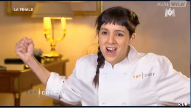 Naoëlle D'Hainaut, gagnante contestée de Top Chef 2013