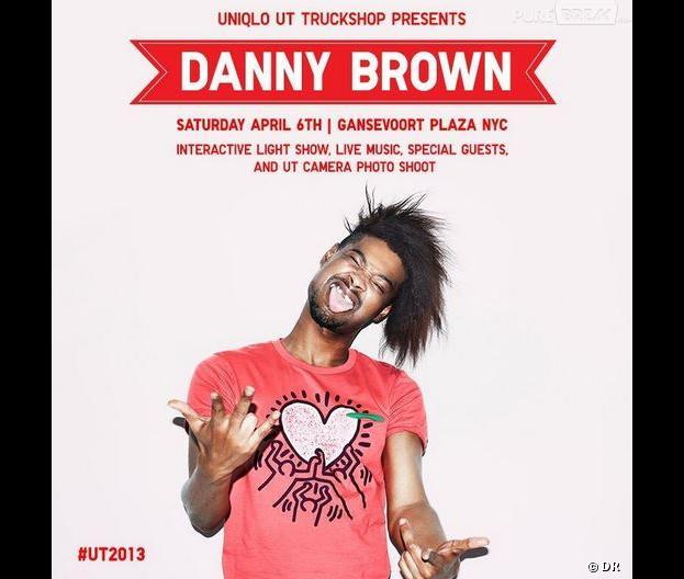 Danny Brown a eu droit à une petite gâterie en concert