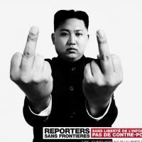 RSF - nouvelle campagne choc : des doigts d'honneur de dictateurs