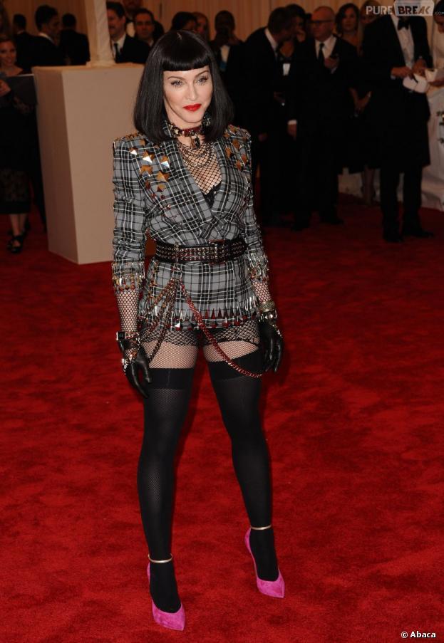 Madonna 100% punk pour le MET Ball