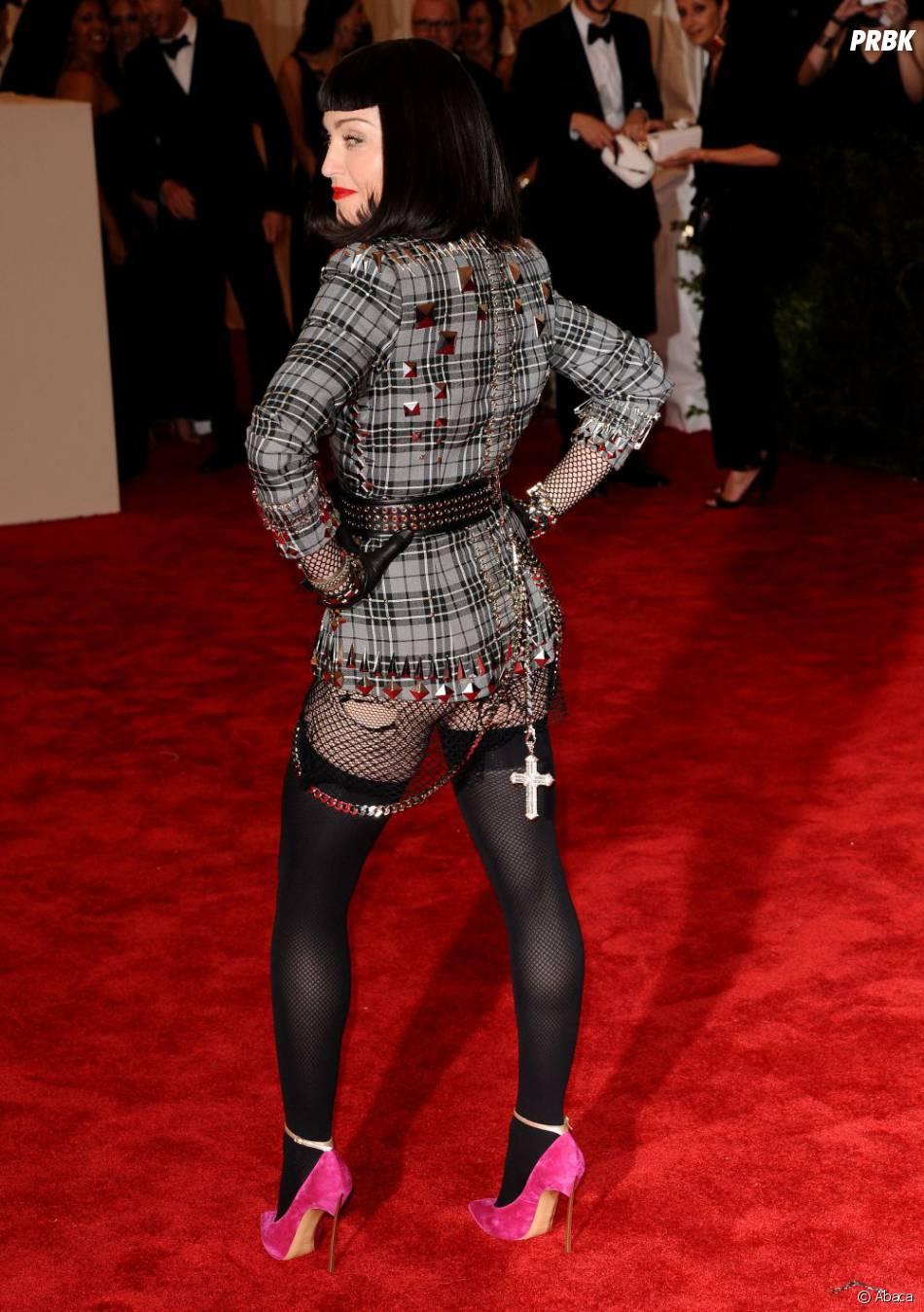 Madonna la reine de la provoc était dans son élément