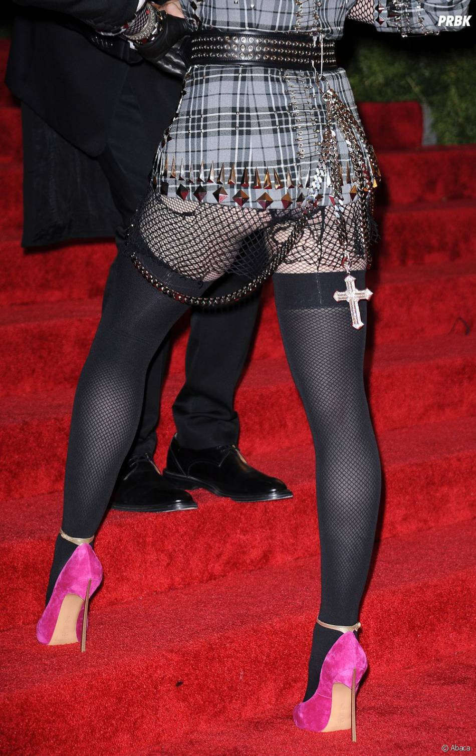 Madonna avait les fesses à l'air