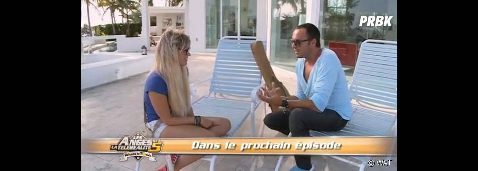 A Miami, Aurélie rencontre Lone, un producteur de musique, qui veut l'entendre chanter dans les Anges 5.