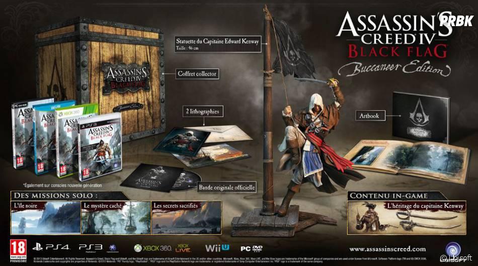 L'édition Buccaneer d'Assassin's Creed 4 Black Flag