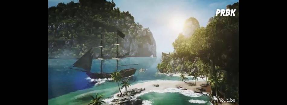 Assassin's Creed 4 Black Flag et ses décors enchanteurs