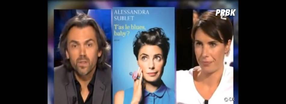Aymeric Caron trouve qu'Alessandra Sublet a tout raté