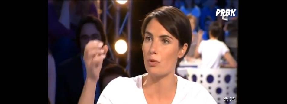 Alessandra Sublet s'est bien défendue