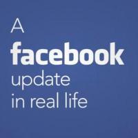 Facebook : ça donnerait quoi une mise à jour dans la vraie vie ?