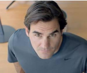 Roger Federer affronte un adversaire volant